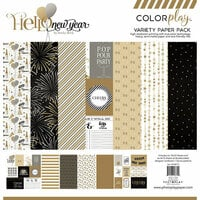 Color Play - Hello New Year Collection - 12 x 12 Collection Pack