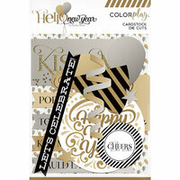 Color Play - Hello New Year Collection - Ephemera