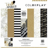 Photo Play Paper - Hello New Year II Collection - 12 x 12 Paper Pack