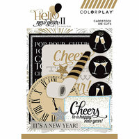 Photo Play Paper - Hello New Year II Collection - Ephemera