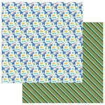 Photo Play Paper - Jurassic Collection - 12 x 12 Double Sided Paper - T-Rex
