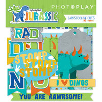 Photo Play Paper - Jurassic Collection - Ephemera