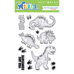 Photo Play Paper - Jurassic Collection - Clear Acrylic Stamps
