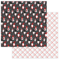Photo Play Paper - Christmas - Kringle and Co Collection - 12 x 12 Double Sided Paper - Gnome For Christmas