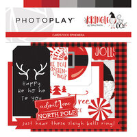 Photo Play Paper - Christmas - Kringle and Co Collection - Ephemera
