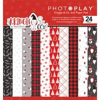 Photo Play Paper - Christmas - Kringle and Co Collection - 6 x 6 Paper Pad