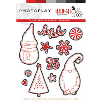 Photo Play Paper - Christmas - Kringle and Co Collection - Ho Ho Ho Die Set