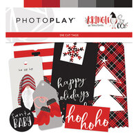 Photo Play Paper - Christmas - Kringle and Co Collection - Tags