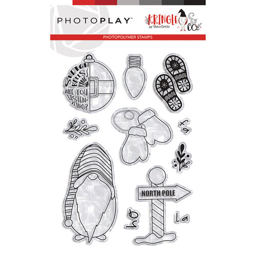 Photo Play Paper - Christmas - Kringle and Co Collection - Clear Photopolymer Stamps - North Pole