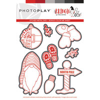 Photo Play Paper - Christmas - Kringle and Co Collection - North Pole Die Set
