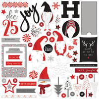 Photo Play Paper - Christmas - Kringle and Co. Collection - 12 x 12 Cardstock Stickers