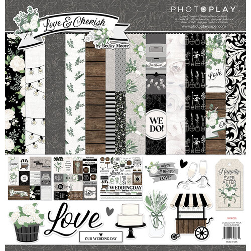 Photo Play Paper - Love and Cherish Collection - 12 x 12 Collection Pack