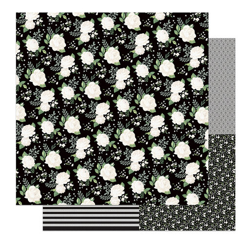 Photo Play Paper - Love and Cherish Collection - 12 x 12 Double Sided Paper - Forever