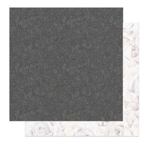 Photo Play Paper - Love and Cherish Collection - 12 x 12 Double Sided Paper - Wedding Day