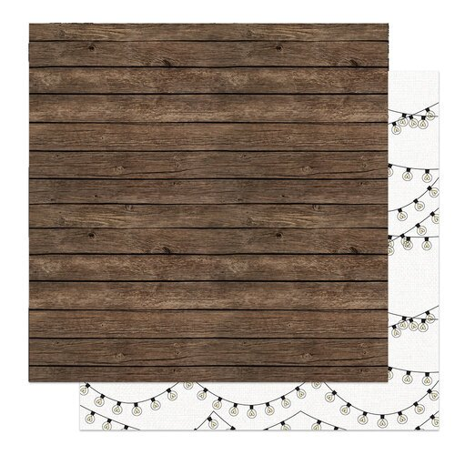 Photo Play Paper - Love and Cherish Collection - 12 x 12 Double Sided Paper - Reception