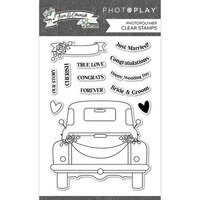 Photo Play Paper - Love and Cherish Collection - Clear Photopolymer Stamps