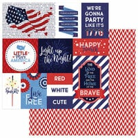 Photo Play Paper - Live Free Collection - 12 x 12 Double Sided Paper - Land That I Love