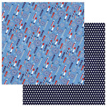 Photo Play Paper - Live Free Collection - 12 x 12 Double Sided Paper - Fireworks