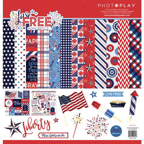 Photo Play Paper - Live Free Collection - 12 x 12 Collection Pack