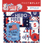 Photo Play Paper - Live Free Collection - Ephemera