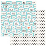 Photo Play Paper - Like a Girl Collection - 12 x 12 Double Sided Paper - You Are Enough
