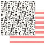 Photo Play Paper - Like a Girl Collection - 12 x 12 Double Sided Paper - Going Places