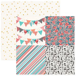 PhotoPlay Paper - Like a Girl Collection - 12 x 12 Double Sided Paper - Have More Fun