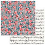 Photo Play Paper - Like a Girl Collection - 12 x 12 Double Sided Paper - Wonderful