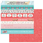 PhotoPlay Paper - Like a Girl Collection - 12 x 12 Double Sided Paper - Just Be You - Border Strips