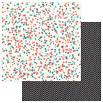 Photo Play Paper - Like a Girl Collection - 12 x 12 Double Sided Paper - Share Your Sparkle