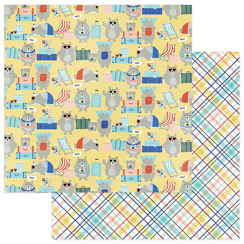 Photo Play Paper - Let's Go Collection - 12 x 12 Double Sided Paper - Vacay