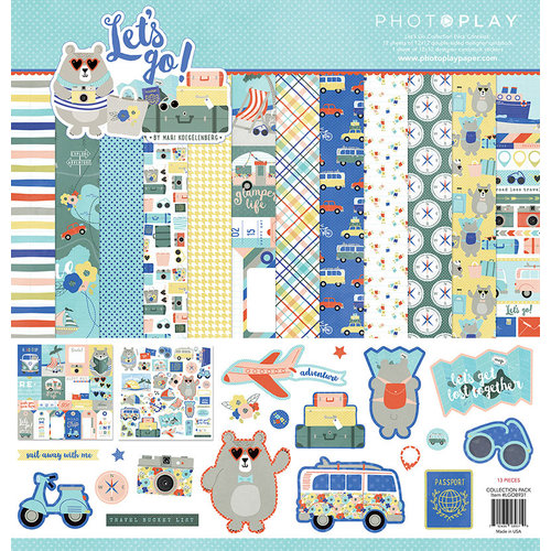 Photo Play Paper - Let
