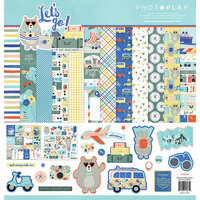 Photo Play Paper - Let's Go Collection - 12 x 12 Collection Pack