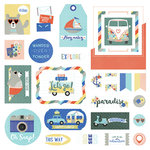 Photo Play Paper - Let's Go Collection - Ephemera