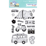 Photo Play Paper - Let's Go Collection - Clear Acrylic Stamps