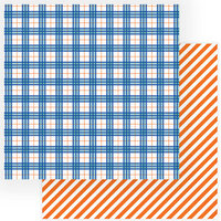 Photo Play Paper - Little Builder Collection - 12 x 12 Double Sided Paper - All Boy