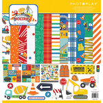 Photo Play Paper - Little Builder Collection - 12 x 12 Collection Kit