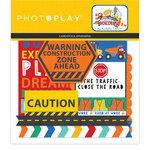 Photo Play Paper - Little Builder Collection - Die Cut Cardstock Pieces - Ephemera