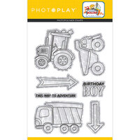 Photo Play Paper - Little Builder Collection - Clear Photopolymer Stamps