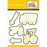Photo Play Paper - Little Builder Collection - Die Set