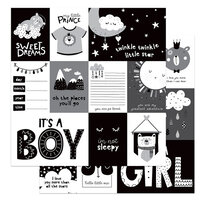 Photo Play Paper - Little One Collection - 12 x 12 Double Sided Paper - Little One Sweet Dreams