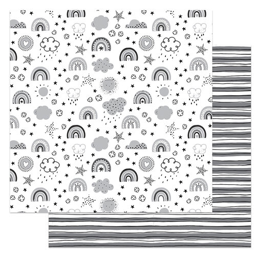 Photo Play Paper - Little One Collection - 12 x 12 Double Sided Paper - Over The Rainbow