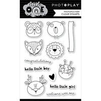 Photo Play Paper - Little One Collection - Clear Photopolymer Stamps - Animals