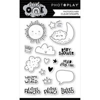 Photo Play Paper - Little One Collection - Clear Photopolymer Stamps - Icons