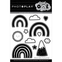 Photo Play Paper - Little One Collection - Etched Die Set - Rainbows