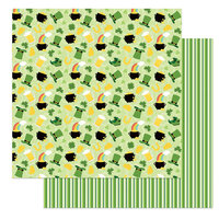 Photo Play Paper - Tulla and Norbert's Lucky Charm Collection - 12 x 12 Double Sided Paper - Lucky Charm