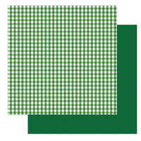 Photo Play Paper - Tulla and Norbert's Lucky Charm Collection - 12 x 12 Double Sided Paper - Tartan