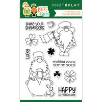 Photo Play Paper - Tulla and Norbert's Lucky Charm Collection - Clear Photopolymer Stamps