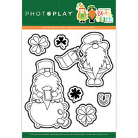 Photo Play Paper - Tulla and Norbert's Lucky Charm Collection - Etched Die Set