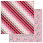 Photo Play Paper - Love Notes Collection - 12 x 12 Double Sided Paper - Crush
